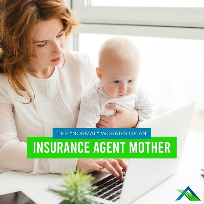 "The ""Normal"" Worries of an Insurance Agent Mother"