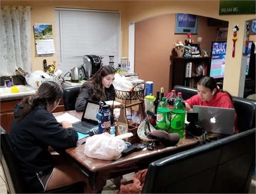 Actresses putting aside some time for studying. EDUCATION COMES FIRST!