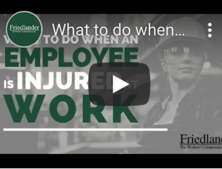 What to do When an Employee is Injured at Work [Video]