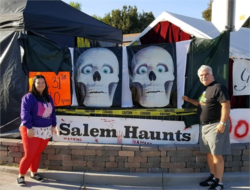 This family came all the way from NEW YORK to check out Salem Haunts!!! THANK YOU for flying out!