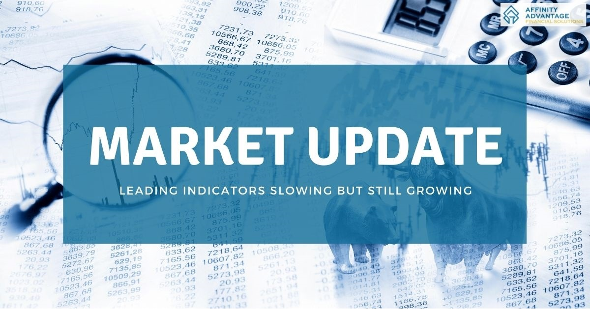 Leading Indicators Slowing But Still Growing