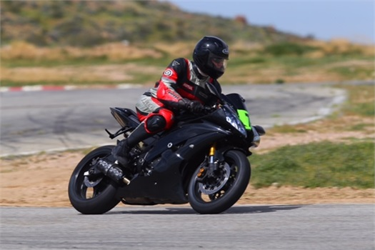 <strong>Nick at the Willow Springs Int'l Raceway.</strong>