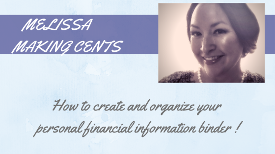 How to create and organize your personal financial information binder