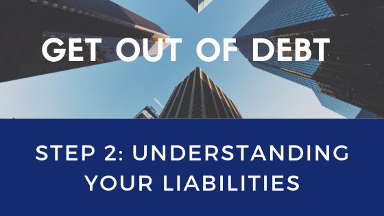 Get Out of Debt Step 2: Understanding your liabilities