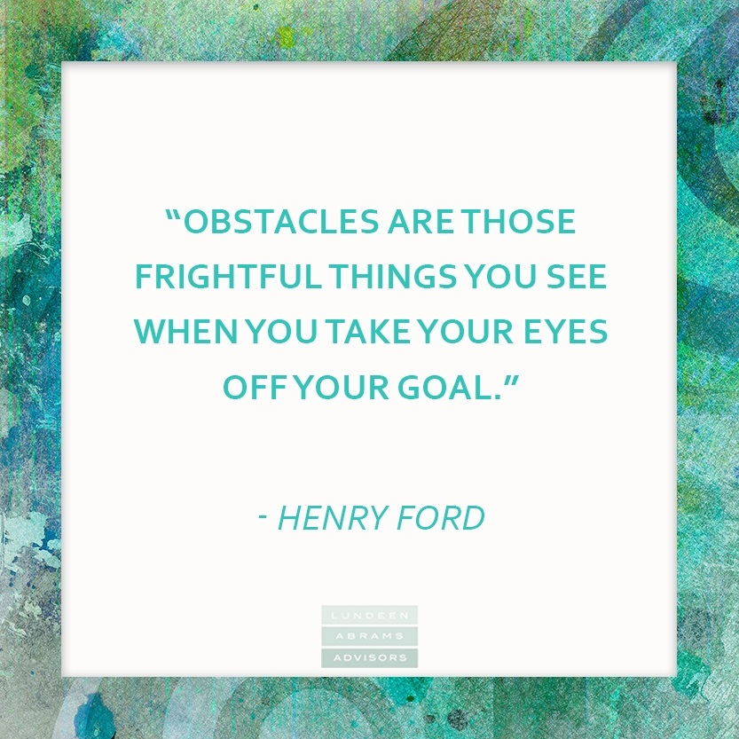 Henry Ford on Goals #WednesdayWisdom