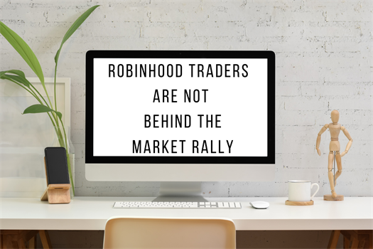 Robinhood Traders are Not Behind the Market Rally