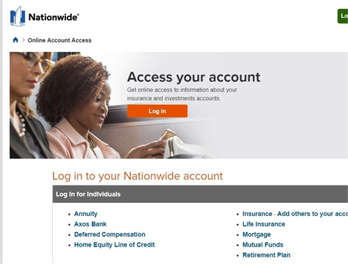 Nationwide Account Access