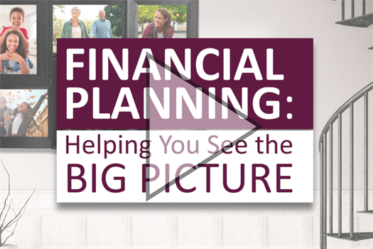 Financial Planning - Big Picture