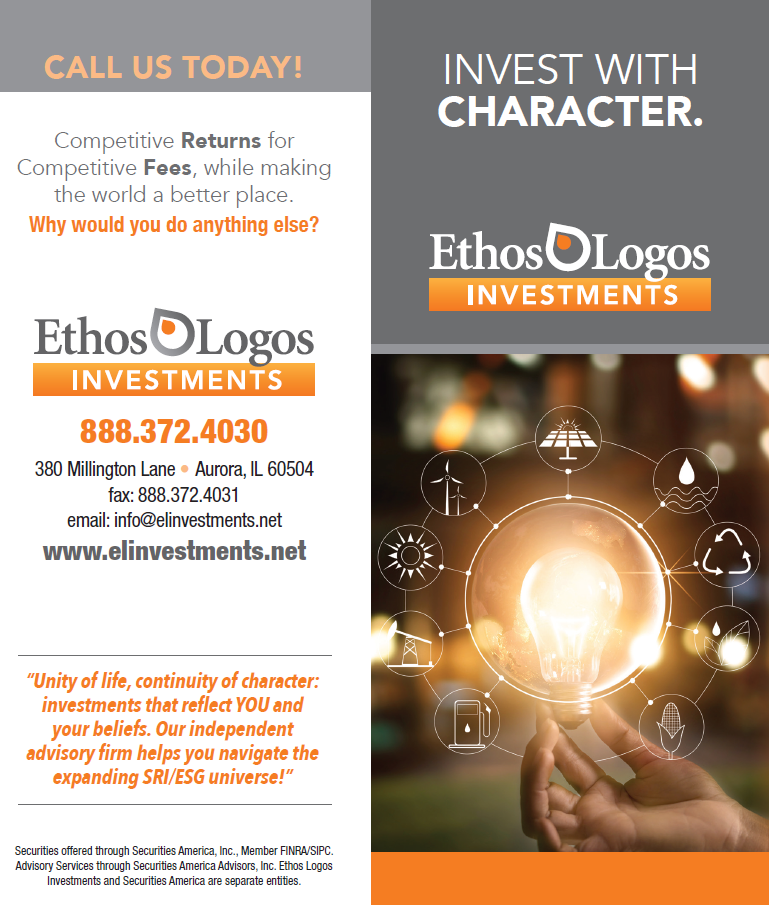 Ethos Logos Investments Tri-fold Brochure Thumbnail