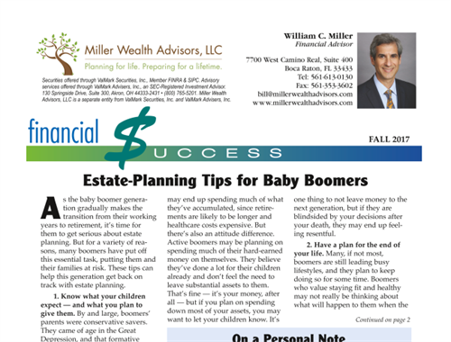 Estate Planning Tips For Baby Boomers