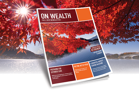 On Wealth - Fall 2019 Newsletter