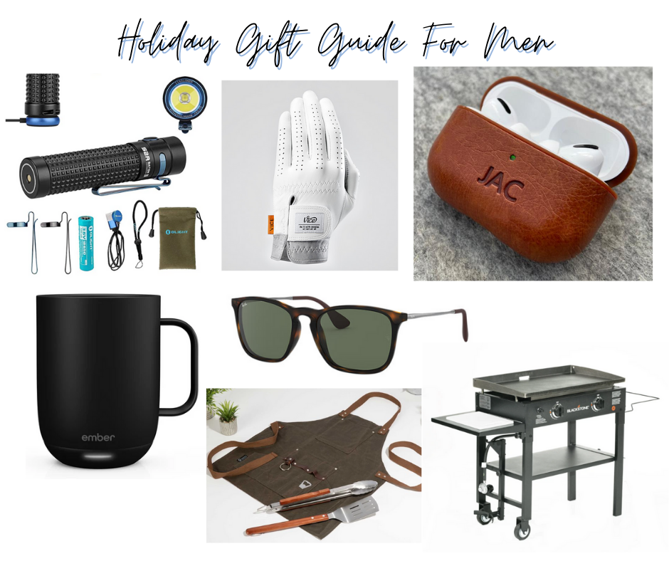 Alana's Holiday Gift Guide For Men