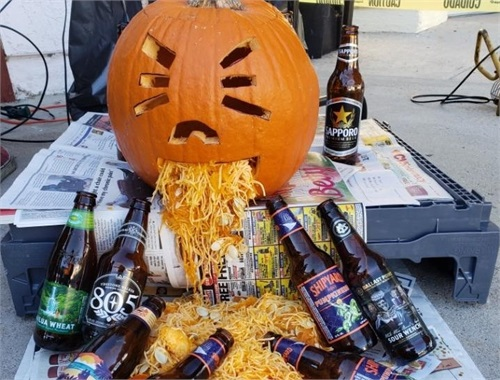 Drunk Pumpkin has become the Logo for Salem Haunts