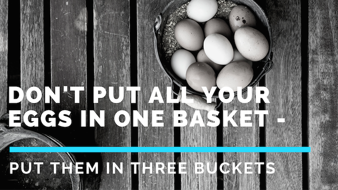 Don't Put All Your Eggs in One Basket — Put Them in Three Buckets
