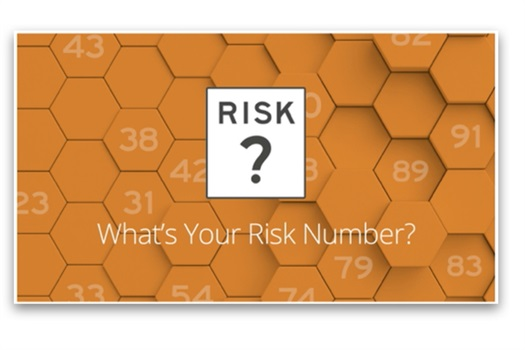 Do your have the right level of risk in your portfolio?  Too much risk can cause large declines.  Not enough risk could prevent you from reaching your goals.