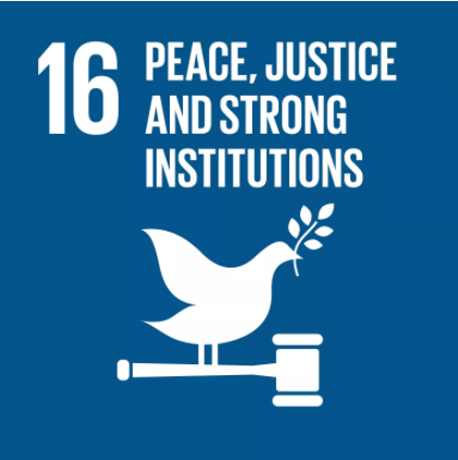 UN Sustainable Development Goals #16: Peace, Justice & Strong Institutions