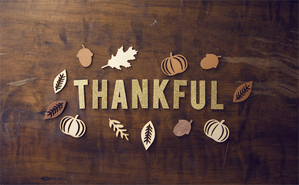 A Thanksgiving Message of Gratitude