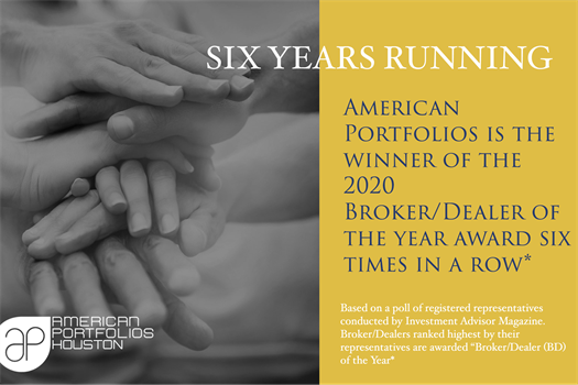 American Portfolios Financial Services, Inc. Named 2020 Broker-Dealer of the Year by Investment Advisor Magazine Six Years Running