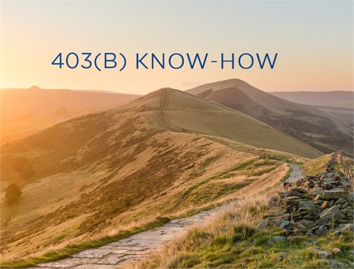 403(b) Know-How