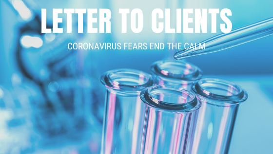 Coronavirus Fears End The Calm