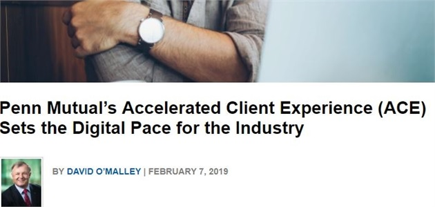 Penn Mutual's  ACE Sets the Digital Pace for the Industry