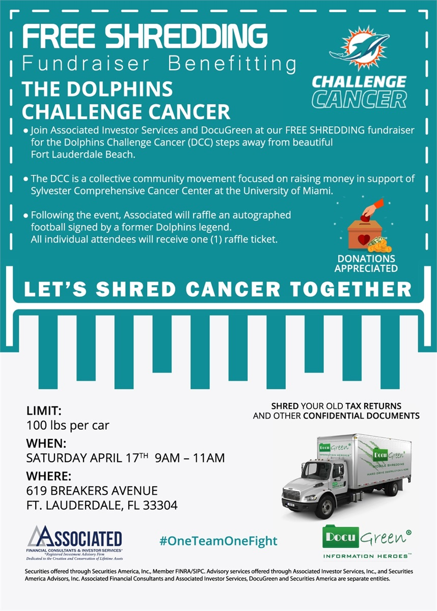 Shredding Cancer with Associated