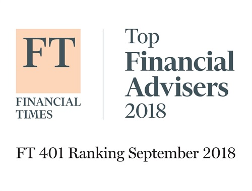 Named to first-ever Top DC Advisor Firm/Team list in 2017.