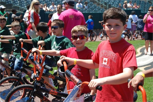Barnum Foundation for Life Bikes for Kids Program