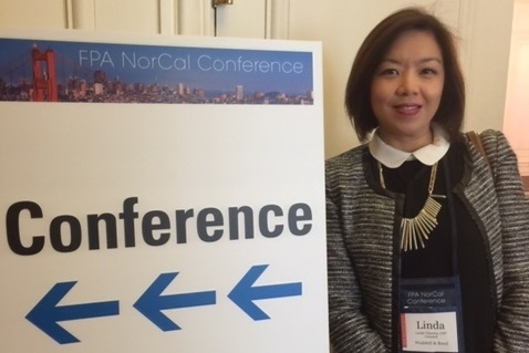 Linda Tjiputra Attends FPA NorCal Conference in San Francisco
