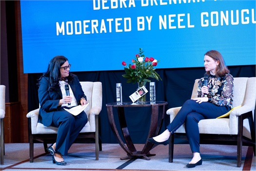 Debra keynotes the US India Chamber of Commerce Annual Women's Conference