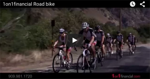 Road Biking with 1on1Financial (Video)