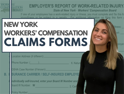 New York Workers' Compensation Claims Forms