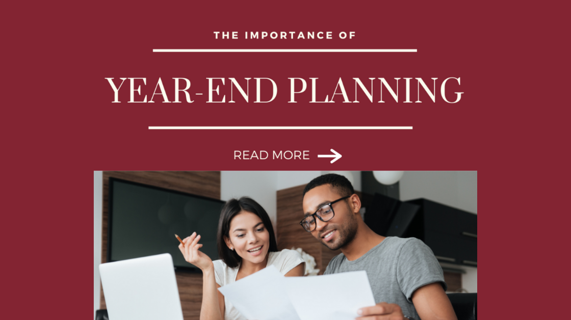 Year-End Planning to Help You Lower Your Tax Bill
