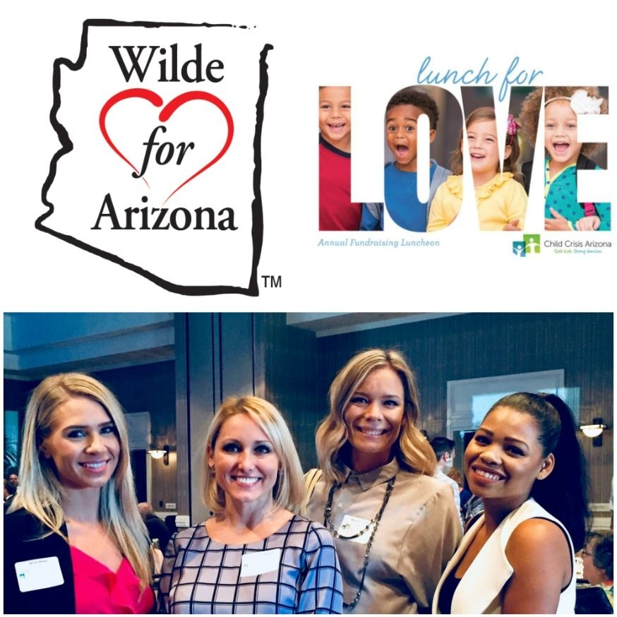 Wilde Wealth attends Lunch for Love Fundraiser
