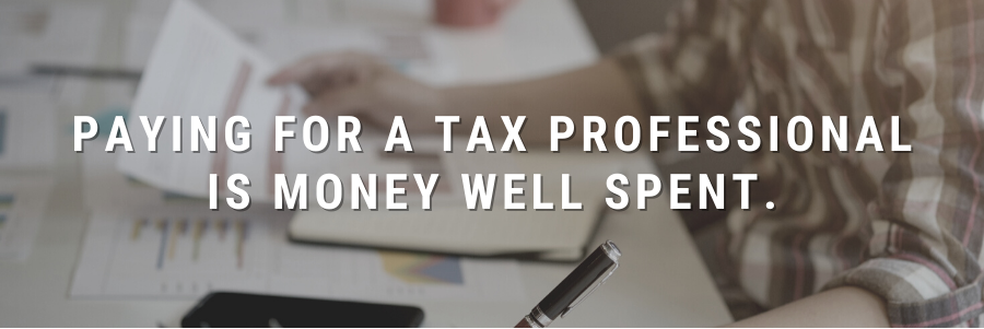 3 Reasons to Pay for a Tax Preparer