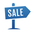 1031 Exchange Step 1 Sale Icon