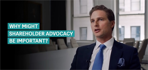 The Importance of Shareholder Advocacy