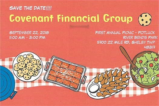 September 22, 2018 CFG's First Annual Client Picnic-Potluck