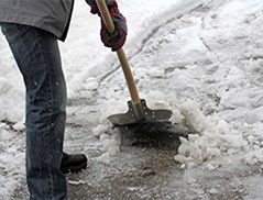 Preventing an Employee Injury in Winter Weather