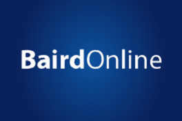 SIGN UP FOR BAIRD ONLINE - Registering is Easy!