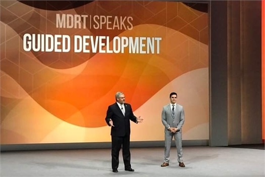 Brian D. Heckert and Brandon Heckert Address Audience at 2019 MDRT Global Conference