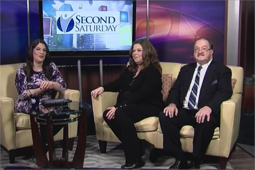 Douglas Donald & Jenny Scott on ABC Channel 36 WTVQ on Good Day KY representing Central Kentucky Second Saturday Divorce Workshop
