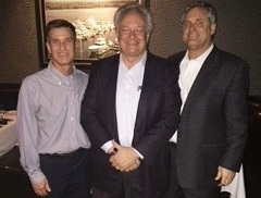 Mike with Louis Navellier (Navellier & Associates) and Kevin Hanney (Cavalier Investments)