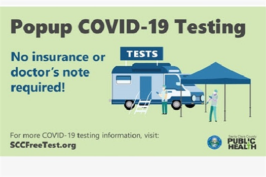 Free Access to COVID-19 Testing in Santa Clara County