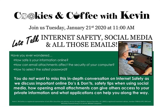 Online Safety, Social Media & All Those Emails! 1.0