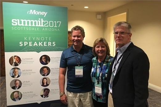 Elaine and Scott attend eMoney Advisor Summit 2017