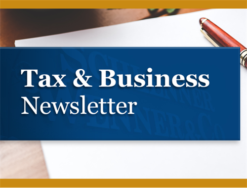 Tax & Business Newsletter