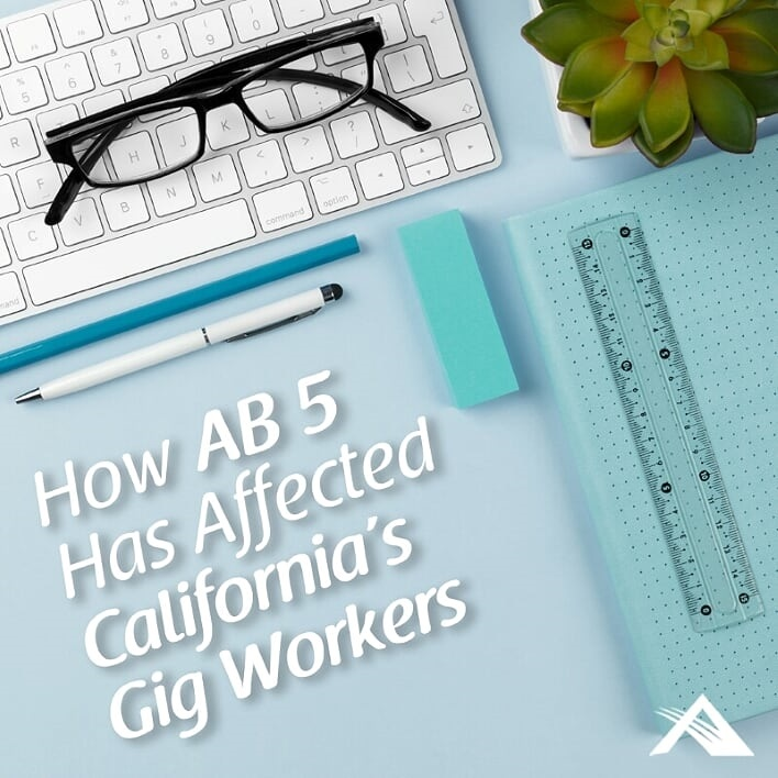 How AB 5 Has Affected California's Gig Workers
