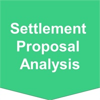 Settlement  Proposal Analysis