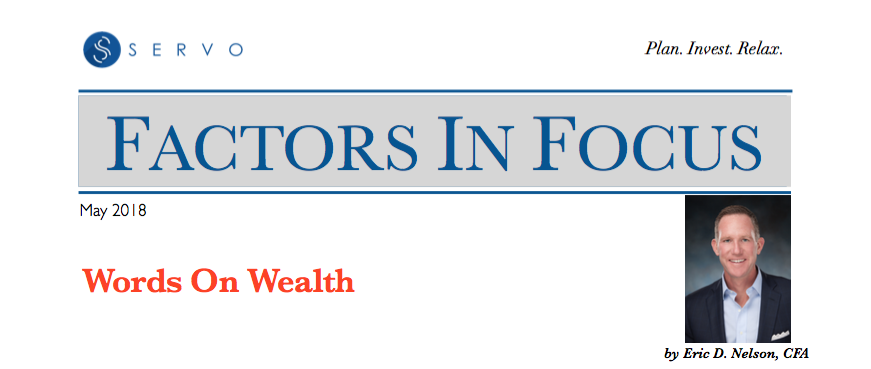 May Factors In Focus Newsletter